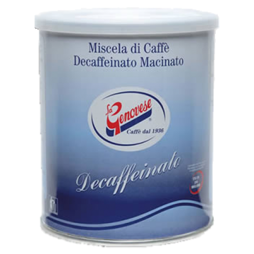 La Genovese Decaffeinato formalet kaffe 250g