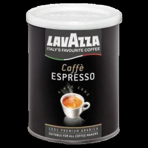 Lavazza 100% Arabica dåse formalet kaffe 250g