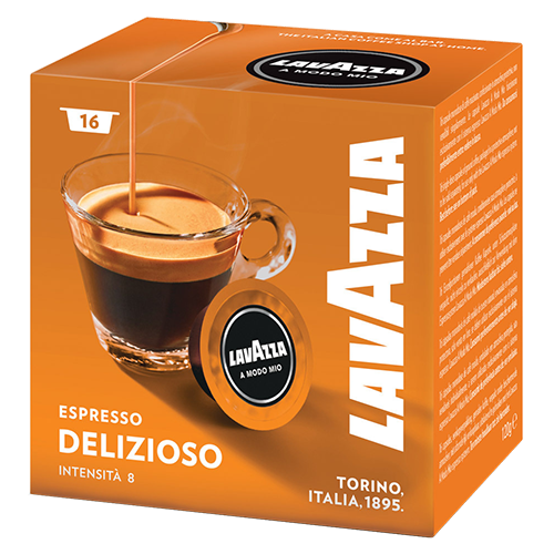 Lavazza A Modo Mio Espresso Delizioso kaffekapsler 16st