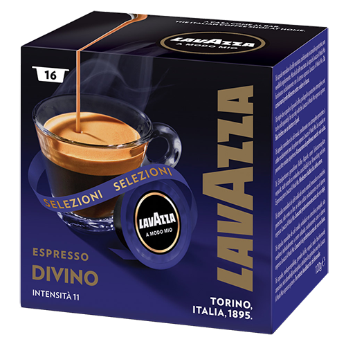 Lavazza A Modo Mio Espresso Divino kaffekapsler 16st utgånget datum