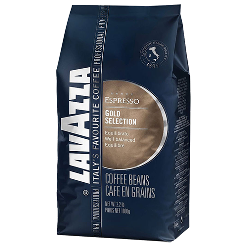 Lavazza Gold Selection kaffebønner 1000g