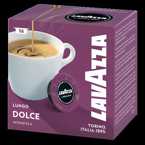 Lavazza A Modo Mio Lungo Dolce kaffekapsler 16st