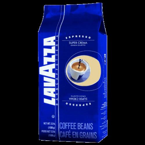 Lavazza Super Crema kaffebønner 1000g