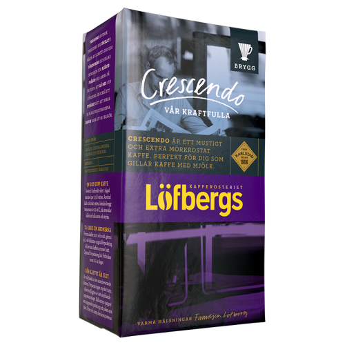 Löfbergs Lila Crescendo formalet kaffe 500g