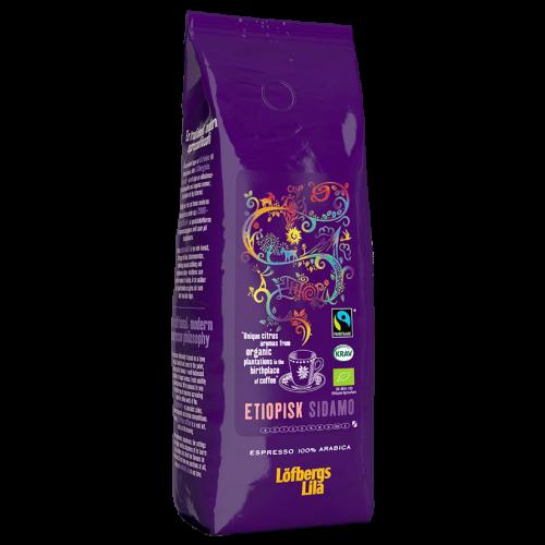 Löfbergs Lila Etiopisk Sidamo Espresso kaffebønner 500g