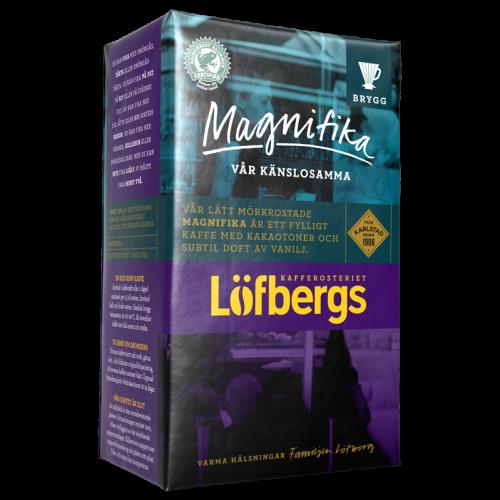 Löfbergs Lila Magnifika formalet kaffe 450g