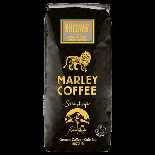Marley Coffee Buffalo Soldier kaffebønner 227g