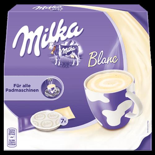 Milka hvid chokoladepuder 7st