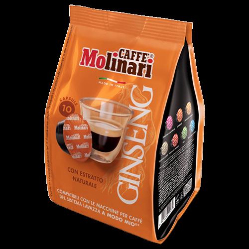 Molinari Ginseng A Modo Mio kaffekapsler 10st
