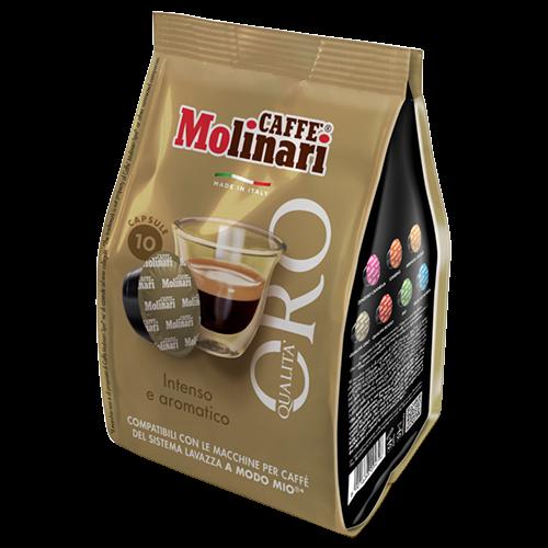 Molinari A Modo Mio Qualità Oro kaffekapsler 10st