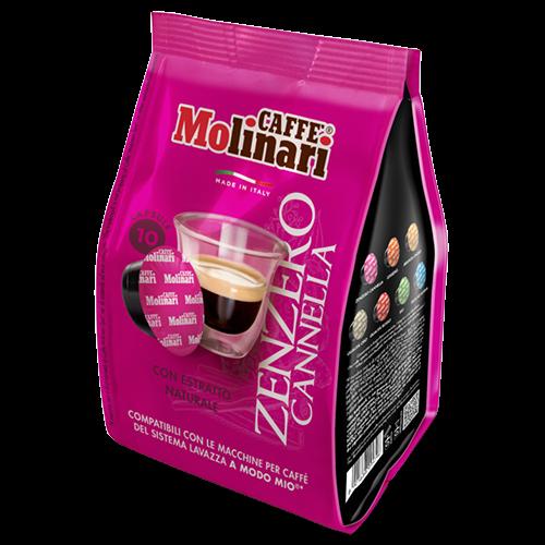 Molinari Zenzero Cannella A Modo Mio kaffekapsler 10st