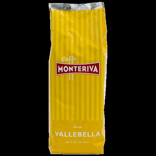 Monteriva Vallebella kaffebønner 500g