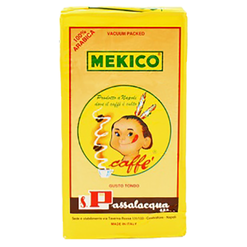 Passalacqua Mekico 100% Arabica formalet kaffe 250g