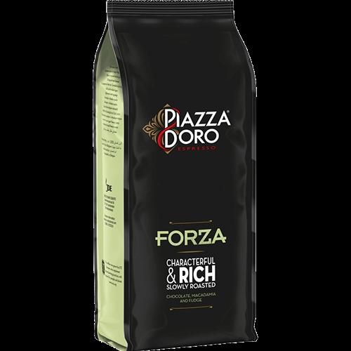 Piazza d'Oro Forza kaffebønner 1000g utgånget datum