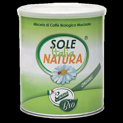 Sole Italia Natura ekologiskt formalet kaffe 250g