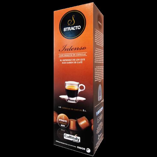 Stracto Intenso Caffitaly kaffekapsler 10st utgånget datum