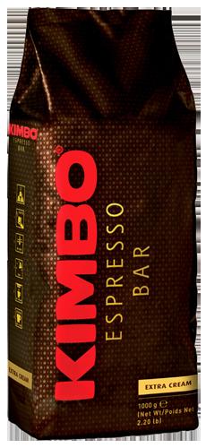Kimbo Espresso Bar Extra Cream kaffebønner