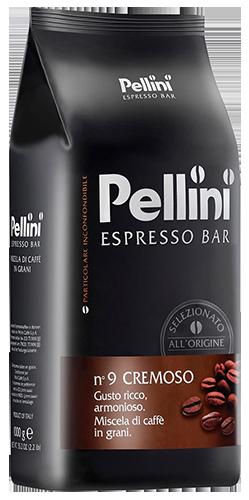 Pellini No9 Cremoso kaffebønner