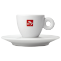 illy espressokop (med underkop) 6cl 1st