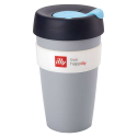 illy live happilly KeepCup kaffekop grå 454ml