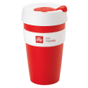 illy live happilly KeepCup kaffekop rød 454ml