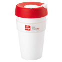 illy live happilly KeepCup kaffekop hvid 454ml
