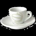 johan & nyström espressokopper (med underkopper) 6st