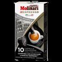Molinari itespresso 100% arabica Nespresso kaffekapsler 10st