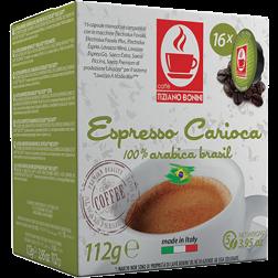 Caffè Bonini Carioca A Modo Mio kaffekapsler 16st