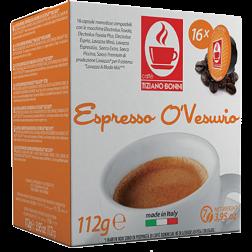 Caffè Bonini O'Vesuvio A Modo Mio kaffekapsler 16st