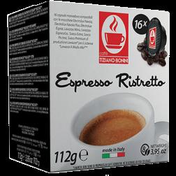 Caffè Bonini Ristretto A Modo Mio kaffekapsler 16st
