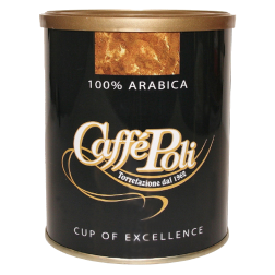 Caffè Poli 100% Arabica dåse formalet kaffe 250g