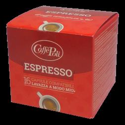 Caffè Poli A Modo Mio Espresso kaffekapsler 16st