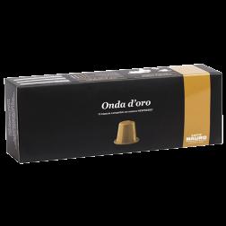 Caffè Mauro Onda d'oro Nespresso kaffekapsler 10st utgånget datum