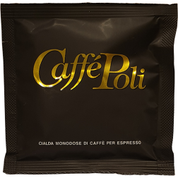 Caffè Poli SuperBar svarta E.S.E kaffepods 150st
