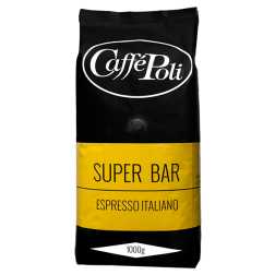 Caffè Poli SuperBar kaffebønner 1000g