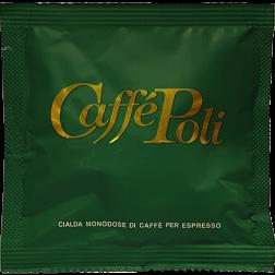 Caffè Poli Bar gröna E.S.E kaffepods 150st