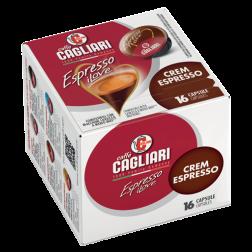 Cagliari Crem Espresso A Modo Mio kaffekapsler 16st utgånget datum