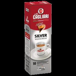 Cagliari Silver Caffitaly kaffekapsler 10st