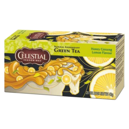 Celestial tea Honey Ginseng Lemon tebreve 20st utgånget datum