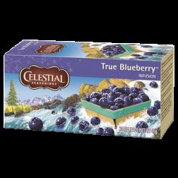Celestial tea True Blueberry tebreve 20st utgånget datum