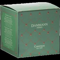 Dammann Frères Grøn Jule-Te tebreve 25st