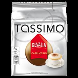 Gevalia Cappuccino Tassimo kaffekapsler 8st