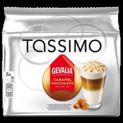 Gevalia Caramel Macchiato Tassimo kaffekapsler 8st