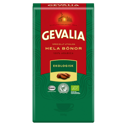Gevalia Ekologisk Mediumroast kaffebønner 500g