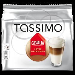 Gevalia Latte Macchiato Tassimo kaffekapsler 8st