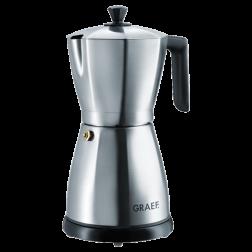 Graef EM80 rustfri elektrisk kaffebrygger børstet stål