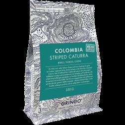 Gringo Colombia Striped Caturra kaffebønner 250g