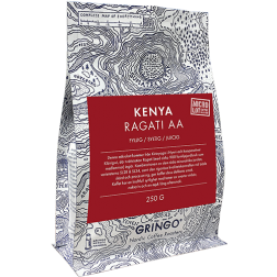 Gringo Kenya Ragati AA kaffebønner 250g