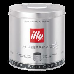 illy Iperespresso mørkristet kaffekapsler 21st